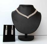 Set Set de Lux halsband & örhängen